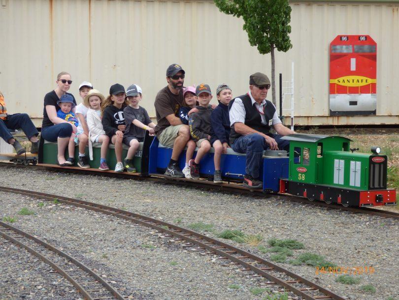 Canberra Miniature Railway Open Day