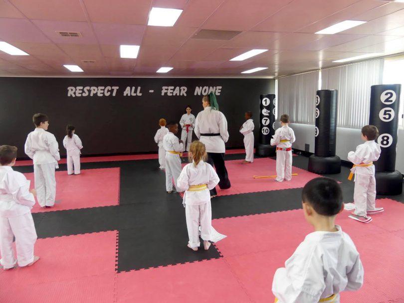 Little ninjas in training