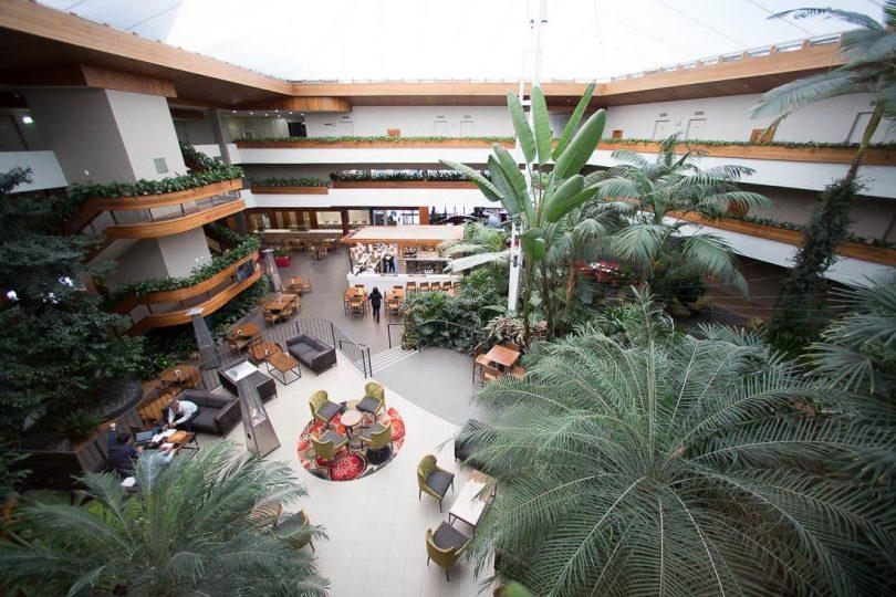 Tropical atrium