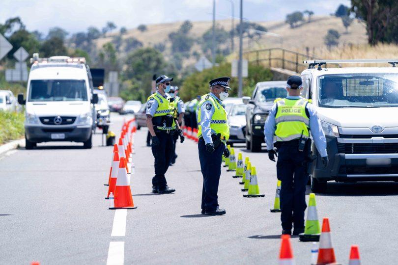 ACT border checks