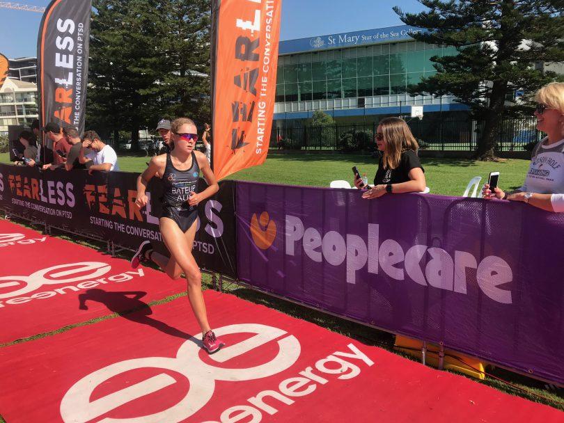 Triathlete Chloe Bateup