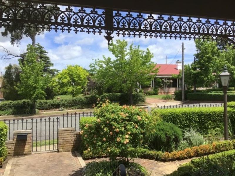 Front garden of home in Hurst Street, Goulburn.