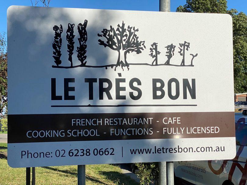 Le Tres Bon in Bungendore