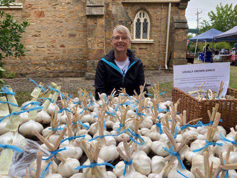 Southern Harvest Farmers Market garlic