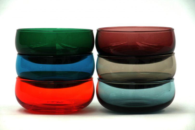 Bisonhome glass bowls