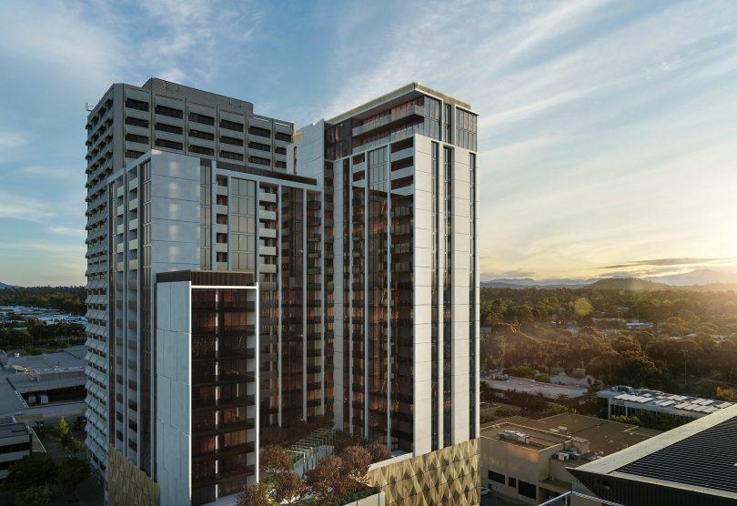 Woden 24-storey development