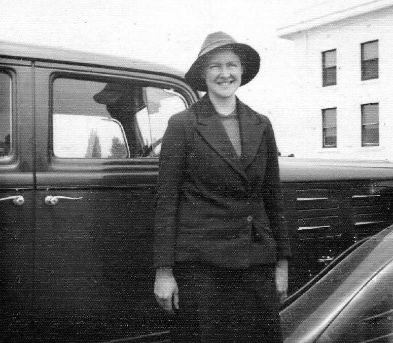 Historical photo of Verity Hewitt.