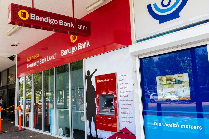 Bendigo Bank branch in Wanniassa
