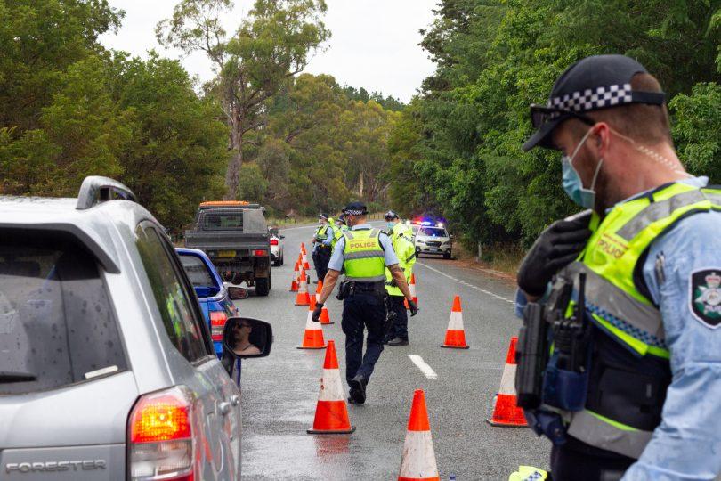 ACT roadblock