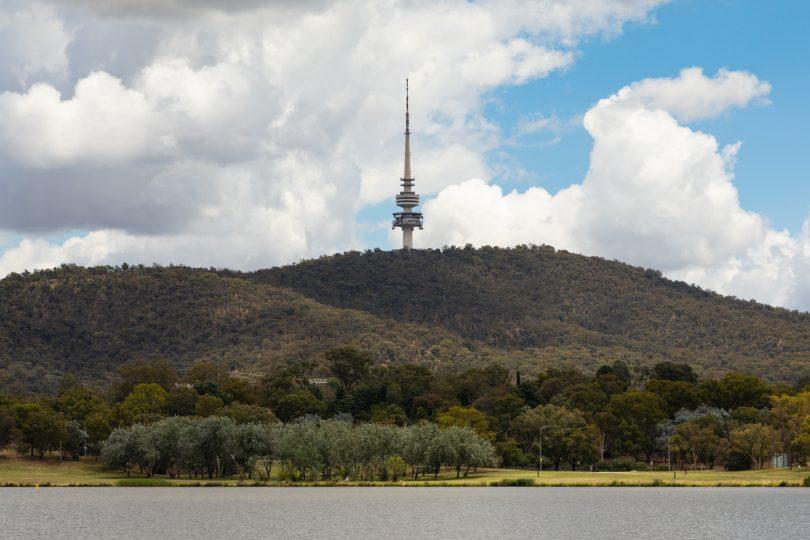 Telstra Tower on Black Mountain
