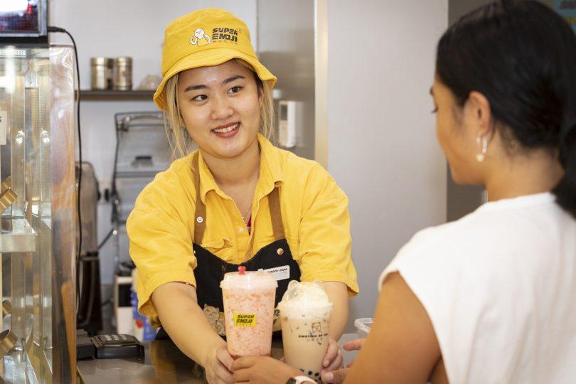 Super Emoji Asian bubble tea