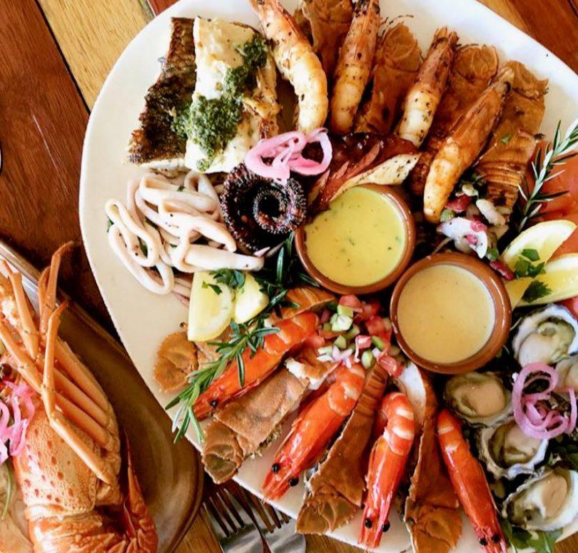 Seafood Platter at Maestral Mediterranean Seafood Restaurant