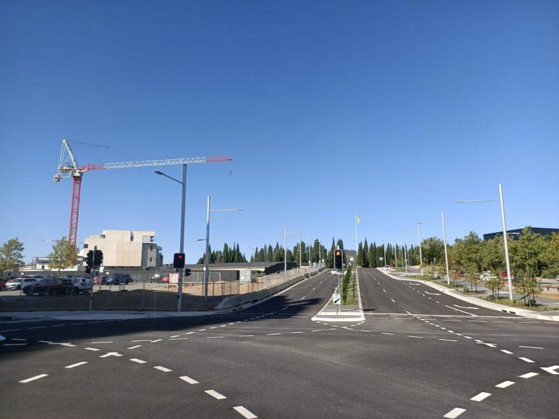 Edinburgh Avenue Extension to Vernon Circle.