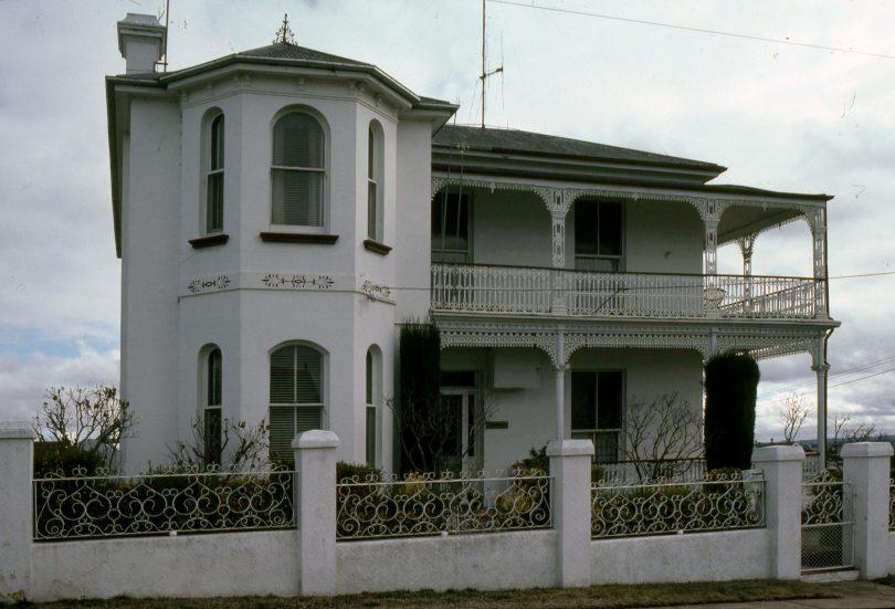 Exterior of home at 144 Cowper Street in Goulburn.