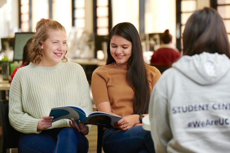 University of Canberra students