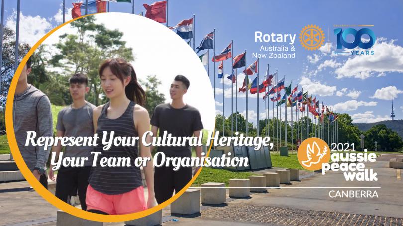 Rotary Aussie Peace Walk 2021 image.
