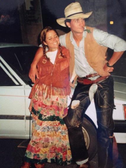 Danette Watson and Jamie Watson in costume.