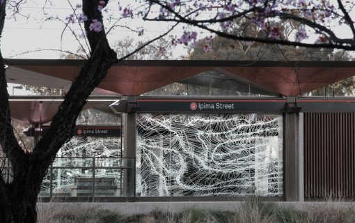 Artist Hannah Quinlivan explains her light rail stop drawings