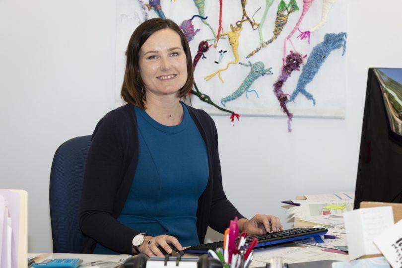 Epilepsy ACT CEO Fiona Allardyce.