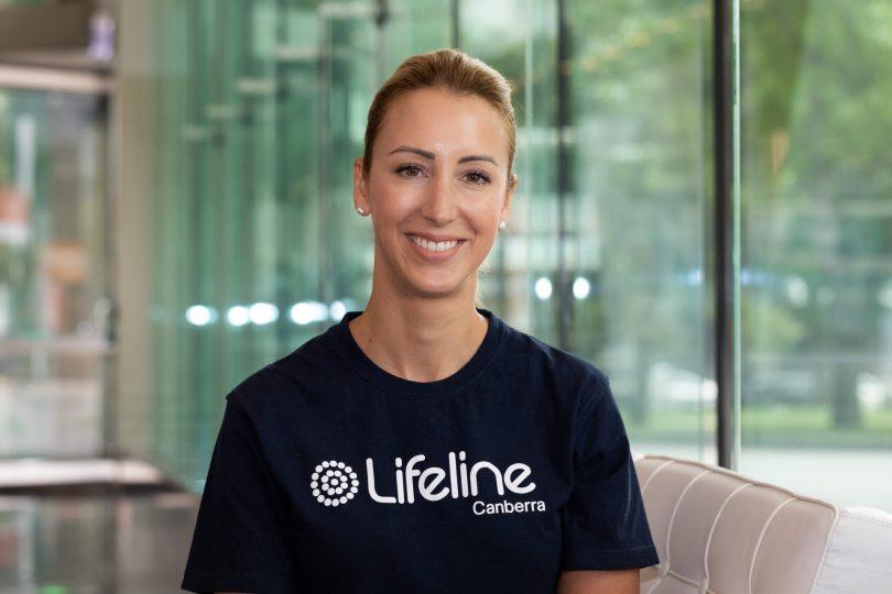 Lifeline Canberra CEO Carrie-Ann Leeson