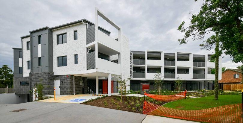 ACT Housing development in Rowley Street