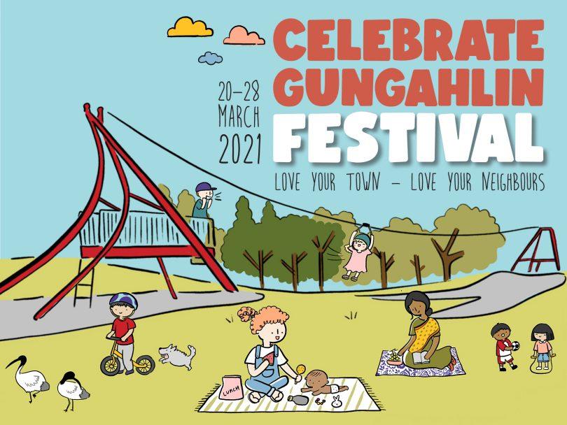 Celebrate Gungahlin Festival artwork