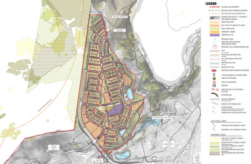 Estate Development Plans for Denman prospect Stage 2