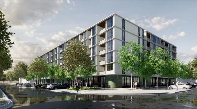 Six-storey, 163-unit development proposed for key Dickson site