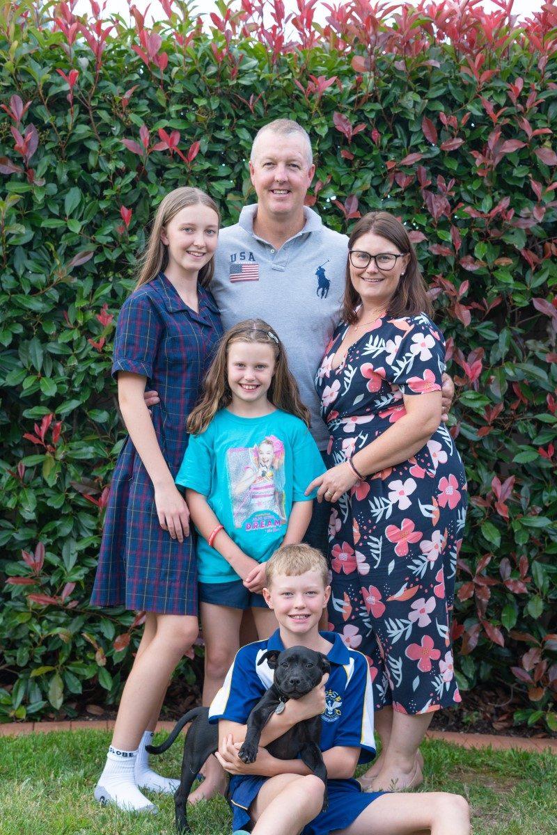 The Burke family.