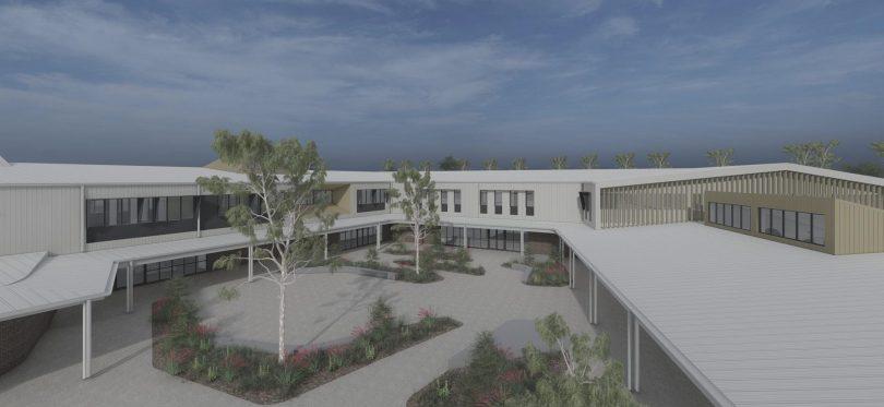 New school in east Gungahlin