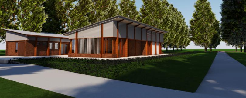 Community facilities in Haig Park