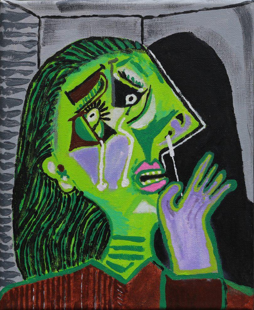 Roger Hancock's Weeping Woman