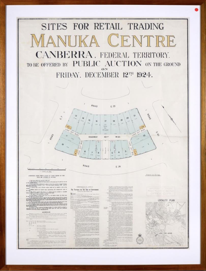 Manuka Centre shop sites