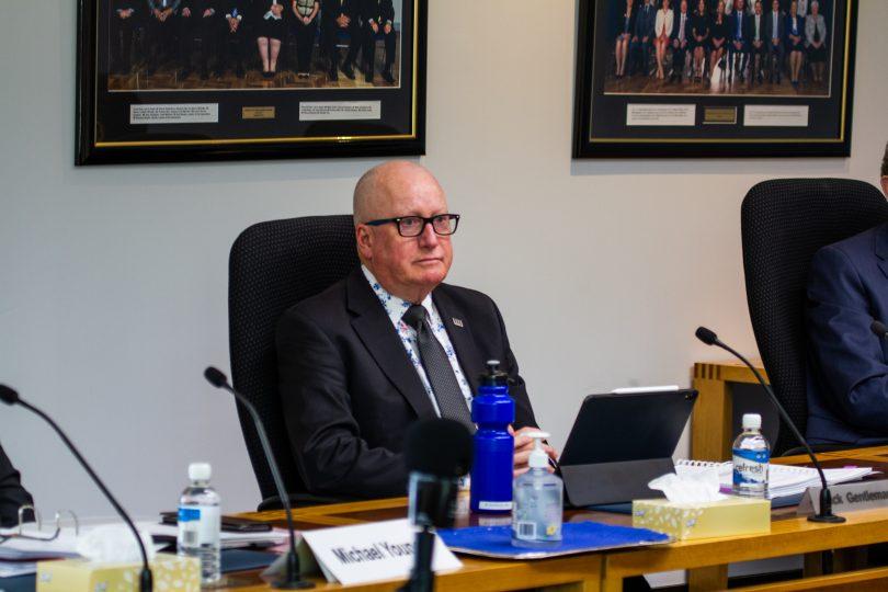 Planning and Land Management Minister Mick Gentleman