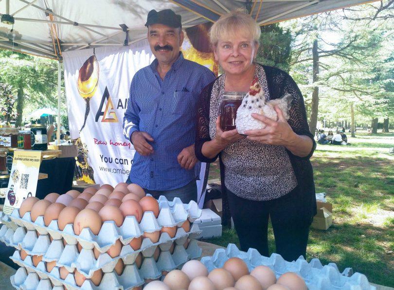 Eric and Yvonne of Portland Free Range Eggs