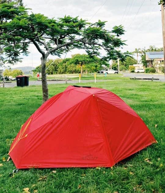 Joash's red tent