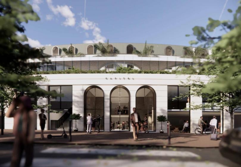 Proposed Manuka hotel