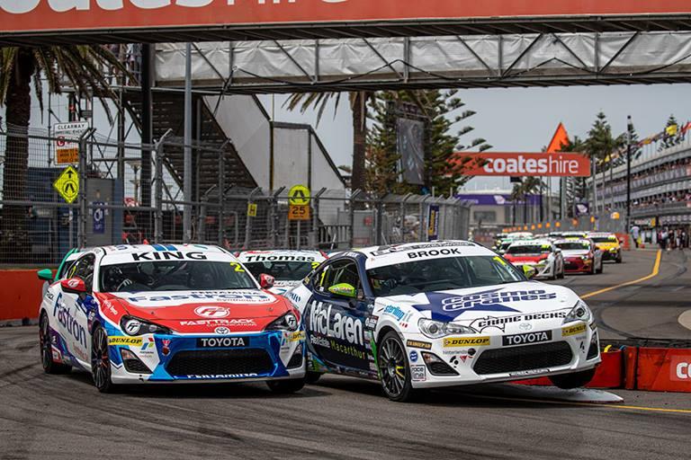 Toyota 86 Series cars racing