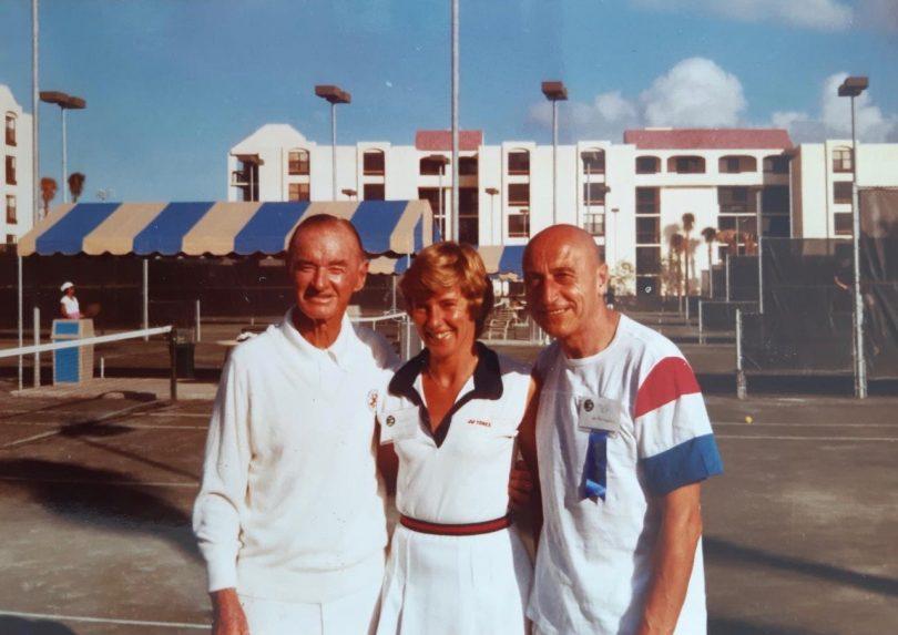 Harry Hopman, Helen and Gil De Kermadec