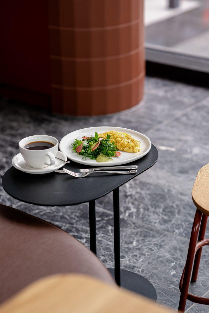 ARC cafe breakfast omelette