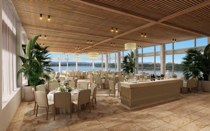 Regatta Point restaurant