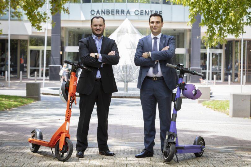 RSM Canberra's Chris Oates and Ross Trimboli