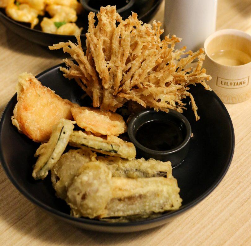 Popcorn shrimp dish from Lilotang restaurant.