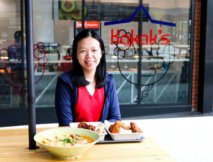 Nicole at Kakak's Malaysian Food