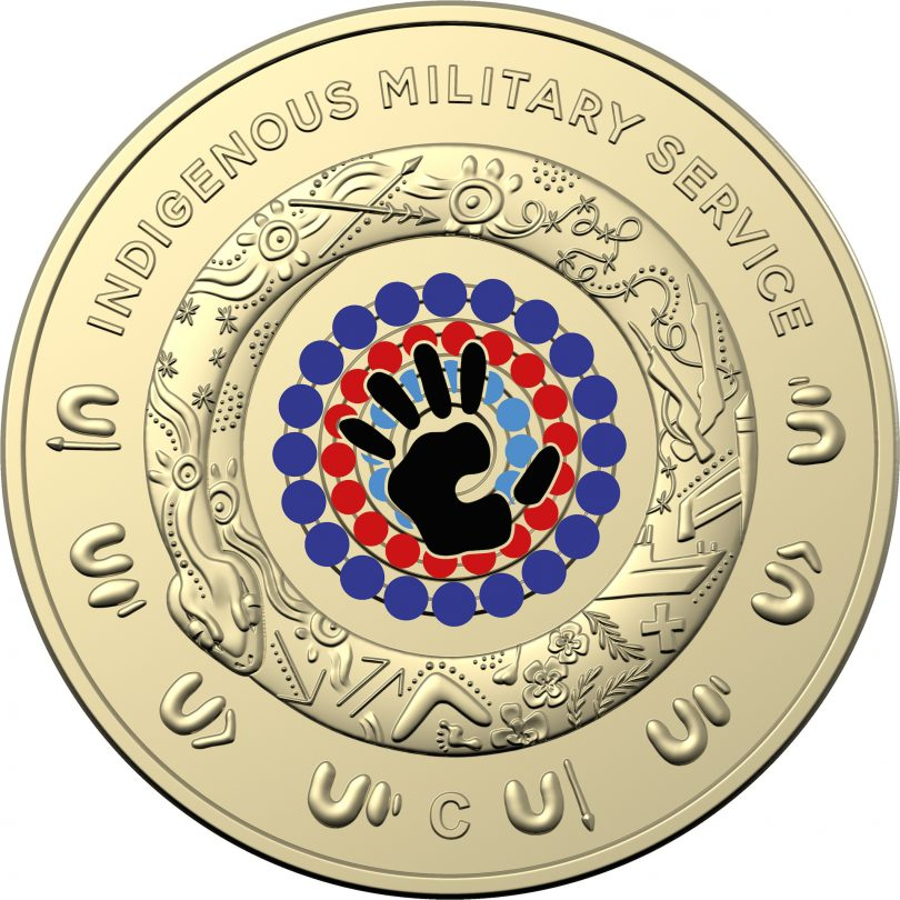 The C-Mintmark Indigenous services coin available at the Mint