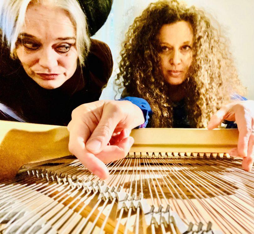 Madame Lark and Sonya Lifschitz