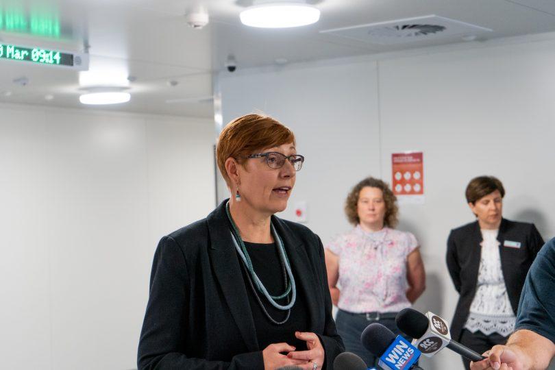 Health Minister Rachel Stephen-Smith