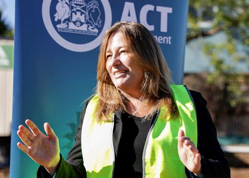 Housing Minister Yvette Berry