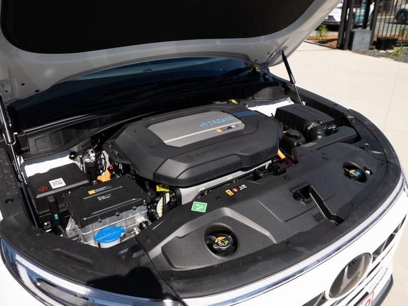 Hydrogen fuel cell motor