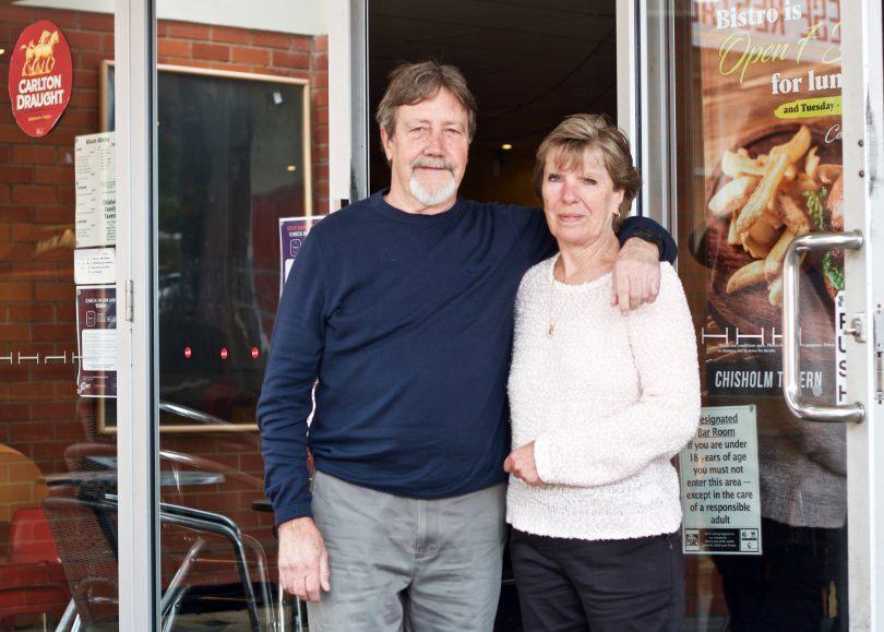 Graham and Jennifer Hunt